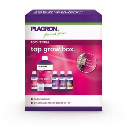 Plagron - Top Grow Box Terra, pack complet engrais et booster pour la terre