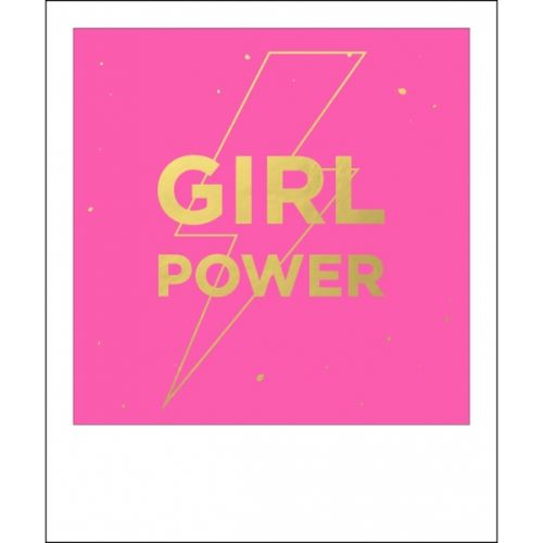 Carte postale polaroid girl - kiub