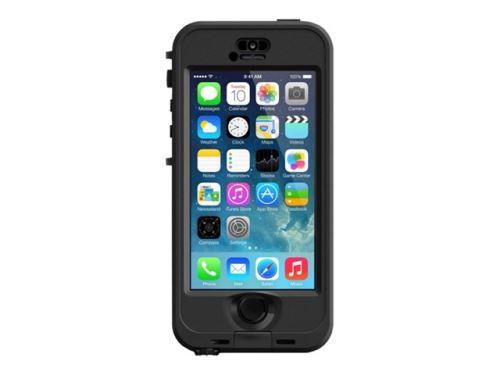 Coque étanche LifeProof NUUD pour iPhone 5s, Noire
