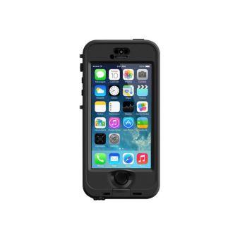 Coque etanche LifeProof NUUD pour iPhone 5s Noire