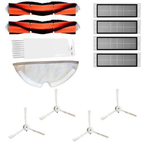 Clean Brosse brosse latérale de roulement Brosse filtre Mop roue universelle pour ROCK ROBO