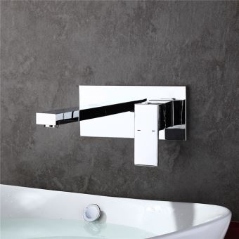 Homelody Robinet Salle de bain Mitigeur Lavabo Robinet pour Baignoire Mural