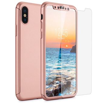coque 360 iphone xr rose