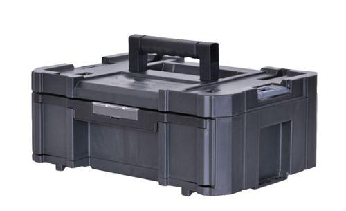 Mallette Grand Tiroir 6 Casiers amovibles Tstak-Fatmax STANLEY 9,5L - 44 x 33,17 x 17,6 cm - FMST1-71968