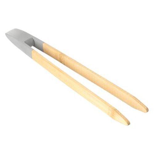 Pince à Toast en Bambou Osa 24cm Naturel & Gris