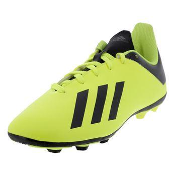 X18 lamelles 4 jr taille38 23 jaune Jaune réf36200 fxg Chaussures football Adidas 9IWY2EDH