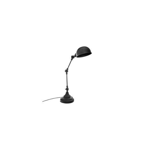 Lampe à Poser en Métal Basalt 55cm Noir