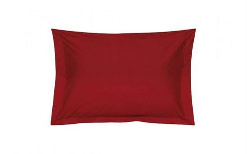 Taie oreiller Percale Rubis 65 x 65