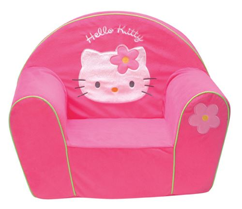 Fauteuil Club Polyvelours Hello Kitty