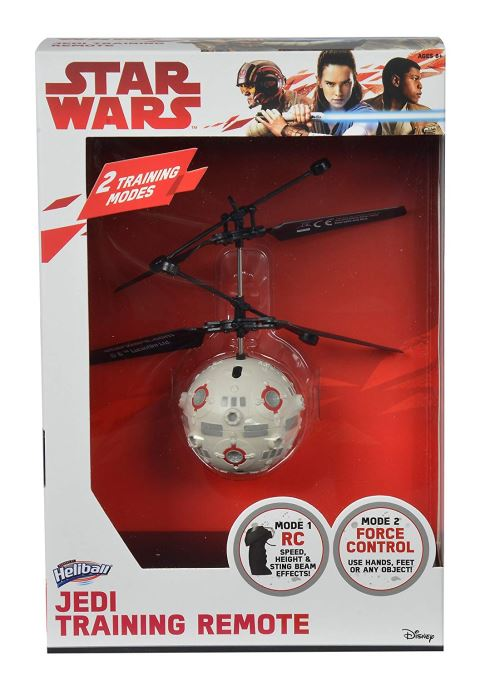 Dickie Toys 209453001 – Star Wars Heli Ball télécommandée Drone Radio, avec Technologie Brevetée Capteurs pour Commande gestuelle