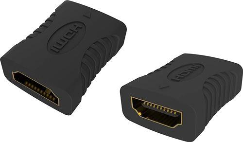 Vision TC-hdmiff HDMI-A HDMI-A Noir Adaptateur de Cable – Adaptateur pour Cable (HDMI-A, HDMI-A, Fem