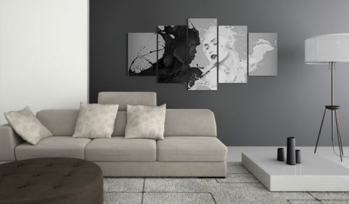 Tableau - Love at first sight .Taille : 200x100