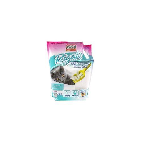 Riga Litiere Fine Agglomerante - Pour Chat - 1,8kg