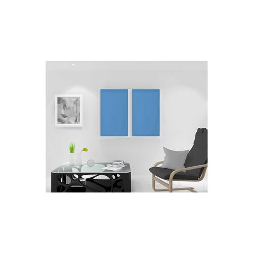 Paire de brise bise 45x90 cm DOLLY bleu