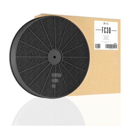 Fc30 - filtre charbon compatible hotte indesit c00090829