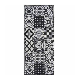 Nazar Tapis Fibres Synthetique Noir 180 X 67 Cm Achat Prix Fnac