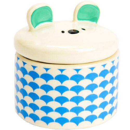 Petite boite à dents de lait - Blanc et bleu