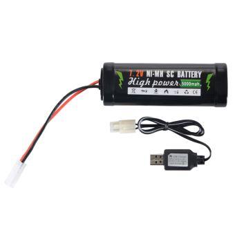 Batterie rechargeable SC 7.2V 5000mAh Ni MH avec câble