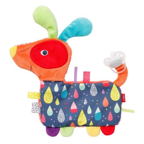 Fehn Color Friendschien de couverture junior 27 cm en peluche