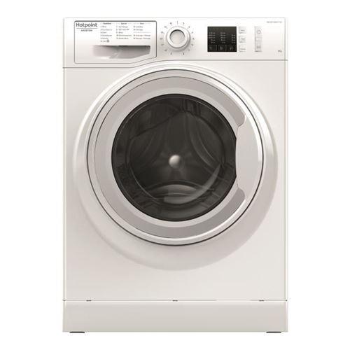 Hotpoint Ariston NM10 823 W FR - Machine à laver - indépendant - largeur : 59.5 cm - profondeur : 60.5 cm - hauteur : 85 cm - chargement frontal - 62 litres - 8 kg - 1200 tours/min - blanc