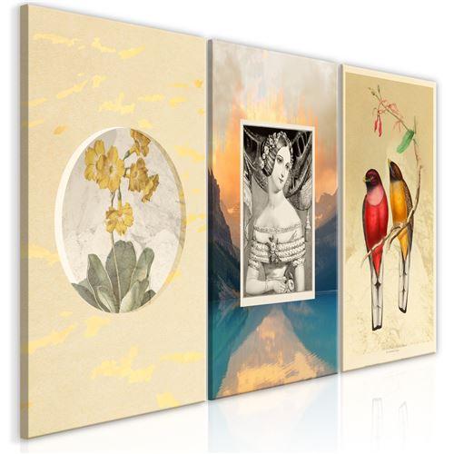 Paris Prix - Tableau Imprimé retro Collection 30 X 60 Cm