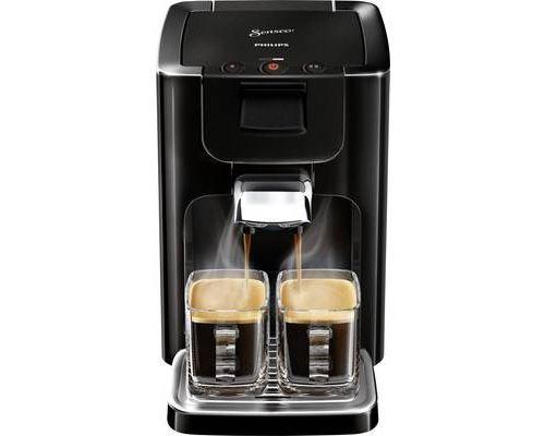 Philips Senseo Quadrante HD7865 - Machine à café - noir profond