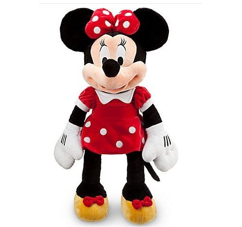 Jumbo Minnie Mouse - Peluche 27 Disney Officiel