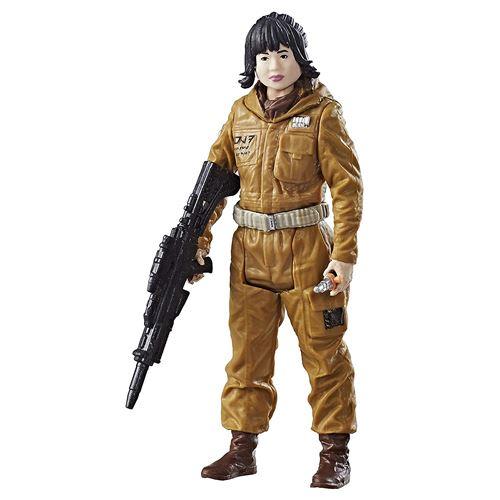 Hasbro - Star Wars : Les Derniers Jedi - Force Link - Resistance Tech Rose - Figurine 9,5 cm