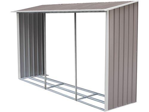 option abri bûches pour abri de jardin dallas 12.99 m²
