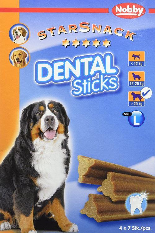 Nobby Friandise pour Chien Dental Sticks 840 g
