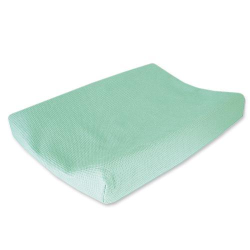 Cottonbaby housse de matelas à langer Wafel48 x 72 cm vert menthe