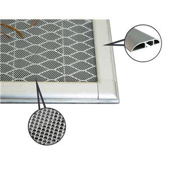 Protection Pour Grille De Fenetre De Sous Sol Smart Inox L150 X L80 Cm Equipement Et Materiel De Securite Achat Prix Fnac