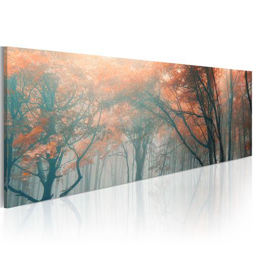 Tableau - brouillard d'automne - artgeist - 135x45