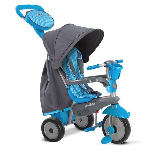 smarTrike 4-in-1-driewieler Swing DLX Tricycle Enfant Junior Gris/Bleu