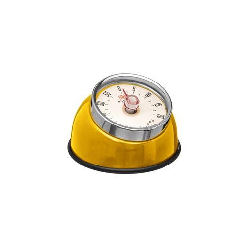 Minuteur Magnet Colors 8cm Jaune