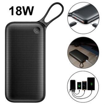 Baseus 20000 mAh batterie externe Powerbank USB type C PD +