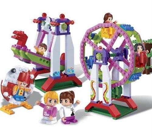 BanBao kit de construction Trendy City Fun Park 401 pièce