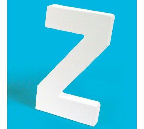 Lettre en carton Z