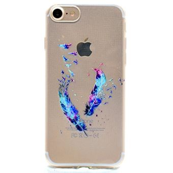 coque plume iphone 6