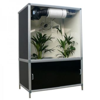 G tools chambre de culture kit bonanza black 176x118x78 cm placard de culture en bois mdf - Chambre de culture 60x60x120 ...