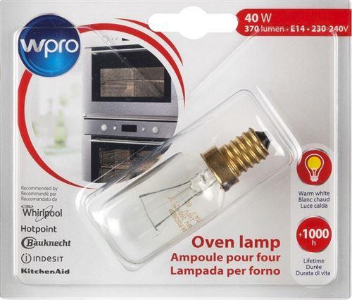 Ampoule Wpro pour four LFO 136 E14 40 W