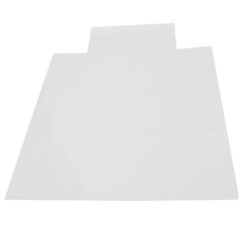 Nouveau 48x 36 pouces 1,5mm Bureau épais PVC Accueil Utilisation Chaise Tapis de sol pour carreaux bois @HJF90408155