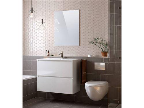 BOBOCHIC LUANA meuble de salle de bain 80 cm Blanc