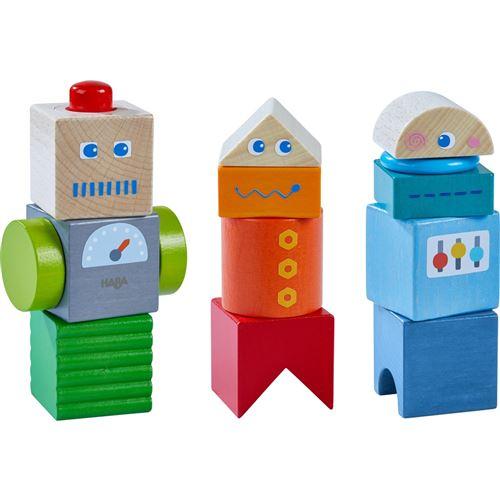 Haba découverte blocs robot amis 9 pièces