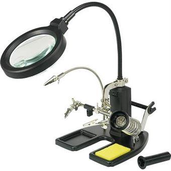 1f58d83ce0 Lampe-loupe avec troisième main TOOLCRAFT 826054 - Achat & prix | fnac