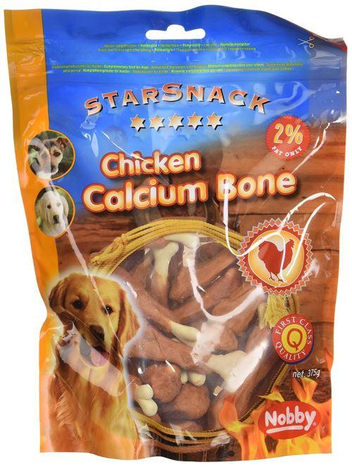 Nobby Friandise pour Chien Poulet Os Calcium 375 g