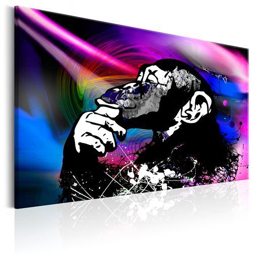 Tableau - Neon Party - Décoration, image, art | Animaux divers | 60x40 cm |