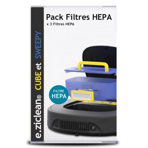 eziclean® aqua one, cube, sweepy et one® aqua 200- filtres hepa