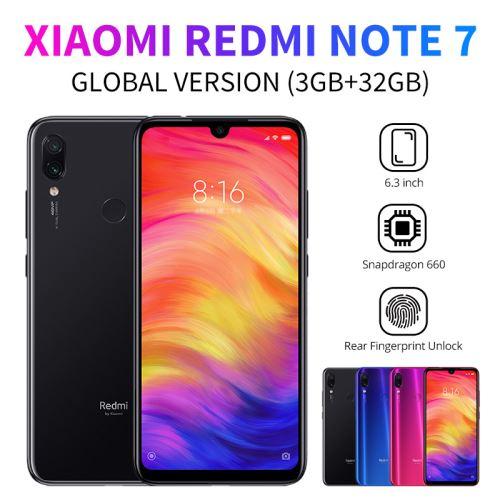 XIAOMI Redmi Note 7 Smartphone 6.3 pouces 3GO RAM 32GO ROM Bleu
