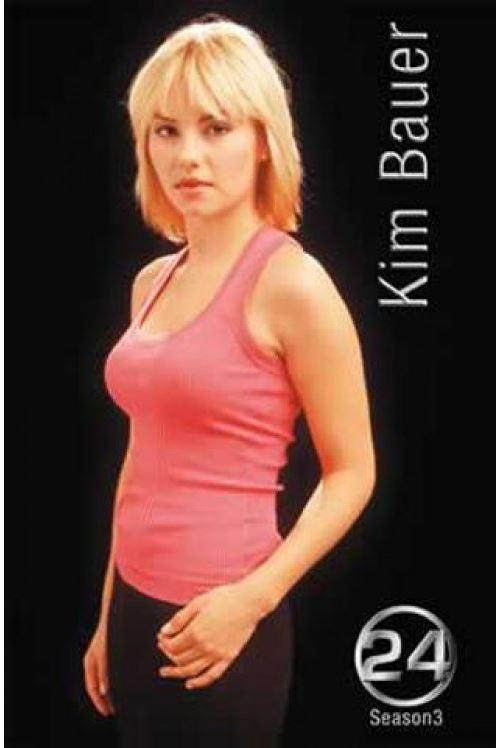 24 Heures Chrono Poster Saison 3 Kim Bauer 98x68 cm